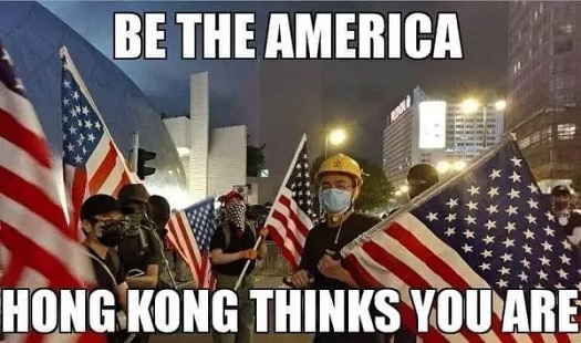 Image result for hong kong you can vote your way into socialism but you'll have to shoot your way out.